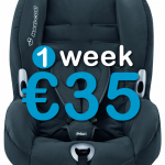 10 dagen autostoel (9-18 kg)