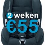2 weken autostoel (9-18 kg)