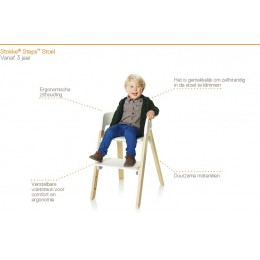 10 dagen Stokke Steps Kinderstoel