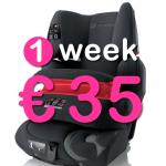 10 dagen autostoel (9-36 kg)