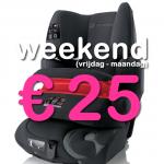 Weekend autostoel (9-36 kg)